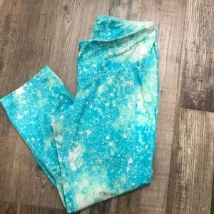 Turquoise Old Navy Stretch pants
